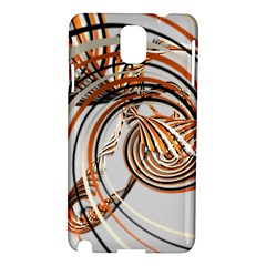 Splines Line Circle Brown Samsung Galaxy Note 3 N9005 Hardshell Case by Mariart