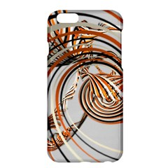 Splines Line Circle Brown Apple Iphone 6 Plus/6s Plus Hardshell Case by Mariart