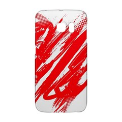Valentines Day Heart Modern Red Polka Galaxy S6 Edge by Mariart