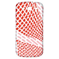 Waves Wave Learning Connection Polka Red Pink Chevron Samsung Galaxy S3 S Iii Classic Hardshell Back Case by Mariart