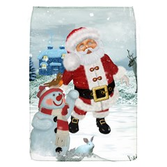 Funny Santa Claus With Snowman Flap Covers (s)  by FantasyWorld7