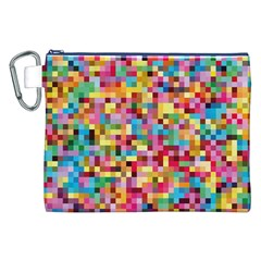 Mosaic Pattern 2 Canvas Cosmetic Bag (xxl) by tarastyle