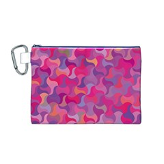 Mosaic Pattern 4 Canvas Cosmetic Bag (m) by tarastyle