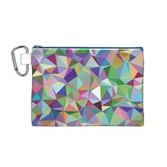 Mosaic Pattern 5 Canvas Cosmetic Bag (m) by tarastyle