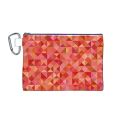 Mosaic Pattern 6 Canvas Cosmetic Bag (m) by tarastyle