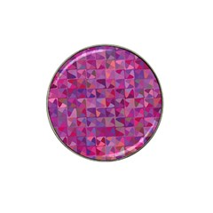 Mosaic Pattern 7 Hat Clip Ball Marker (4 Pack) by tarastyle