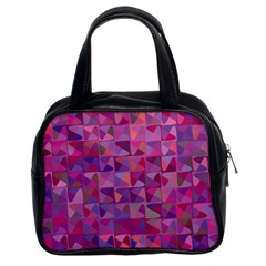 Mosaic Pattern 7 Classic Handbags (2 Sides) by tarastyle