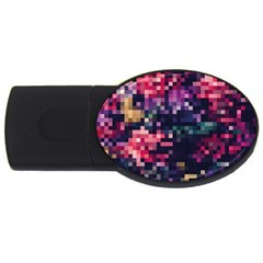 Mosaic Pattern 8 Usb Flash Drive Oval (2 Gb) by tarastyle
