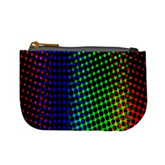 Digitally Created Halftone Dots Abstract Background Design Mini Coin Purses by Nexatart