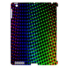Digitally Created Halftone Dots Abstract Background Design Apple Ipad 3/4 Hardshell Case (compatible With Smart Cover) by Nexatart