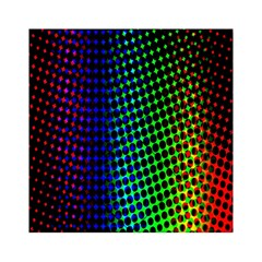 Digitally Created Halftone Dots Abstract Background Design Acrylic Tangram Puzzle (6  X 6 ) by Nexatart