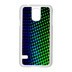 Digitally Created Halftone Dots Abstract Background Design Samsung Galaxy S5 Case (white) by Nexatart