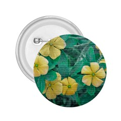 Yellow Flowers At Nature 2 25  Buttons by dflcprints