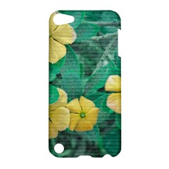 Yellow Flowers At Nature Apple Ipod Touch 5 Hardshell Case by dflcprints