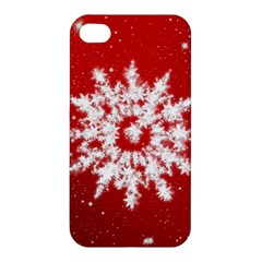 Background Christmas Star Apple Iphone 4/4s Hardshell Case