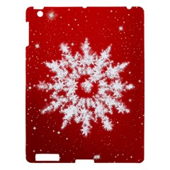 Background Christmas Star Apple Ipad 3/4 Hardshell Case by Nexatart