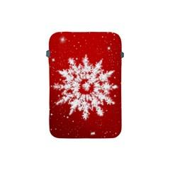 Background Christmas Star Apple Ipad Mini Protective Soft Cases by Nexatart