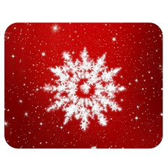 Background Christmas Star Double Sided Flano Blanket (medium)  by Nexatart