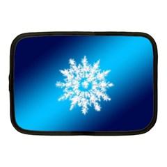 Background Christmas Star Netbook Case (medium)  by Nexatart