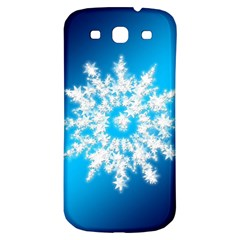 Background Christmas Star Samsung Galaxy S3 S Iii Classic Hardshell Back Case by Nexatart