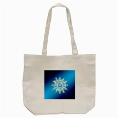 Background Christmas Star Tote Bag (cream) by Nexatart