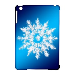 Background Christmas Star Apple Ipad Mini Hardshell Case (compatible With Smart Cover) by Nexatart