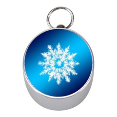 Background Christmas Star Mini Silver Compasses by Nexatart