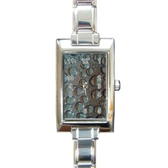 Drop Of Water Condensation Fractal Rectangle Italian Charm Watch by Nexatart
