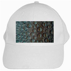 Drop Of Water Condensation Fractal White Cap by Nexatart