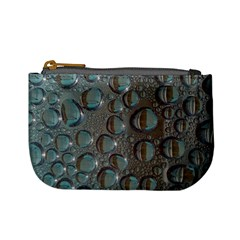Drop Of Water Condensation Fractal Mini Coin Purses