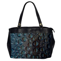 Drop Of Water Condensation Fractal Office Handbags by Nexatart