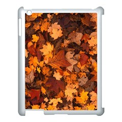 Fall Foliage Autumn Leaves October Apple Ipad 3/4 Case (white) by Nexatart