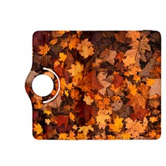 Fall Foliage Autumn Leaves October Kindle Fire Hdx 8 9  Flip 360 Case by Nexatart