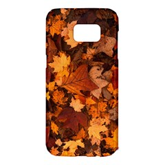 Fall Foliage Autumn Leaves October Samsung Galaxy S7 Edge Hardshell Case by Nexatart
