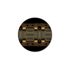 Board Digitization Circuits Golf Ball Marker (4 Pack) by Nexatart