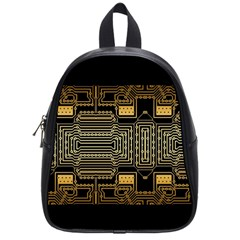 Board Digitization Circuits School Bag (small) by Nexatart