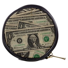 Dollar Currency Money Us Dollar Mini Makeup Bags by Nexatart