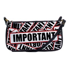 Important Stamp Imprint Shoulder Clutch Bags by Nexatart
