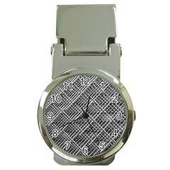 Grid Wire Mesh Stainless Rods Money Clip Watches by Nexatart
