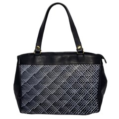 Grid Wire Mesh Stainless Rods Office Handbags by Nexatart