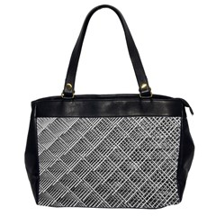 Grid Wire Mesh Stainless Rods Office Handbags (2 Sides)  by Nexatart