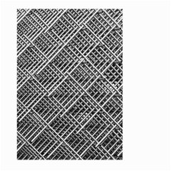Grid Wire Mesh Stainless Rods Large Garden Flag (two Sides) by Nexatart