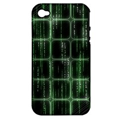 Matrix Earth Global International Apple Iphone 4/4s Hardshell Case (pc+silicone) by Nexatart