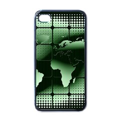 Matrix Earth Global International Apple Iphone 4 Case (black) by Nexatart