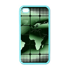 Matrix Earth Global International Apple Iphone 4 Case (color) by Nexatart