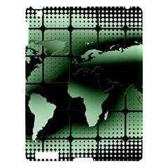 Matrix Earth Global International Apple Ipad 3/4 Hardshell Case by Nexatart