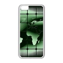 Matrix Earth Global International Apple Iphone 5c Seamless Case (white) by Nexatart