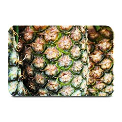Pineapple Texture Macro Pattern Plate Mats by Nexatart
