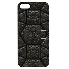 Tile Emboss Luxury Artwork Depth Apple Iphone 5 Hardshell Case With Stand by Nexatart