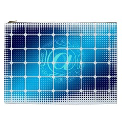 Tile Square Mail Email E Mail At Cosmetic Bag (xxl)  by Nexatart